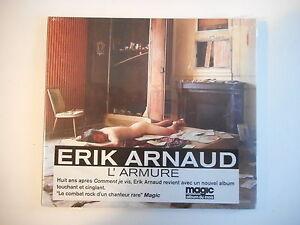 ERIK ARNAUD : L'ARMURE ( reprise Manset ) [ CD DIGIPAK NEUF PORT GRATUIT ]