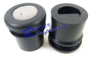 SBC BBC 350 454 Rubber PCV Breather Grommets Plug For Steel Valve Covers 2