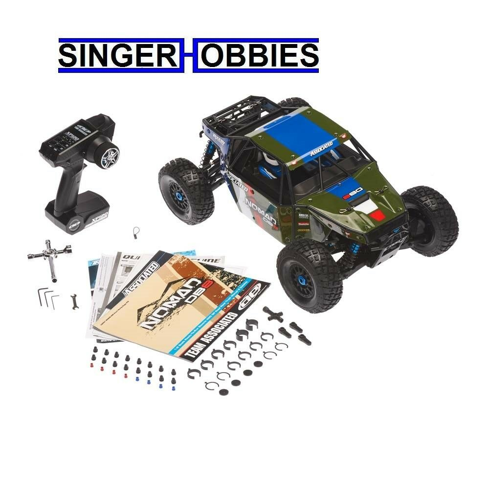 Associated 1 8 Limited Edition Nomad DB8 4WD Brushless RTR, verde ASC80941T1 HH