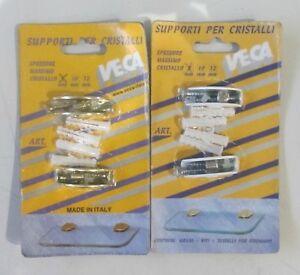 Reggimensola-Supporto-x-Cristalli-8-mm-portata-15kg-Mensole-in-Vetro-vari-colori