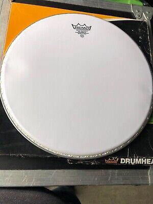 "Remo 14/"" Smooth White Falams II Batter Crimplock Drumhead"