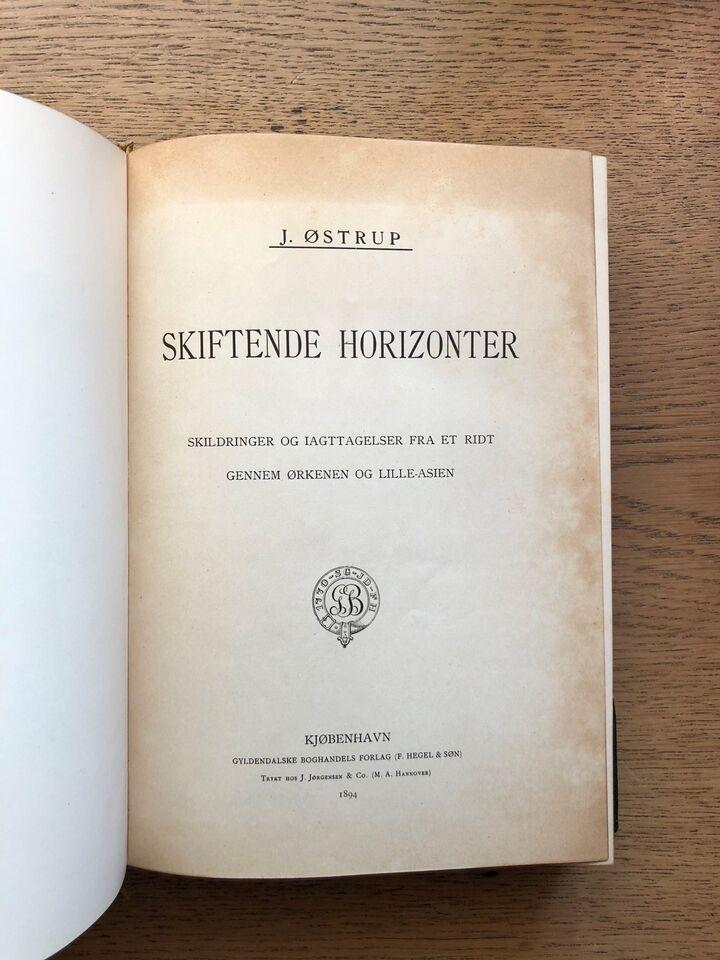Skiftende Horizonter, J. Østrup, – dba.dk – Køb og Salg af