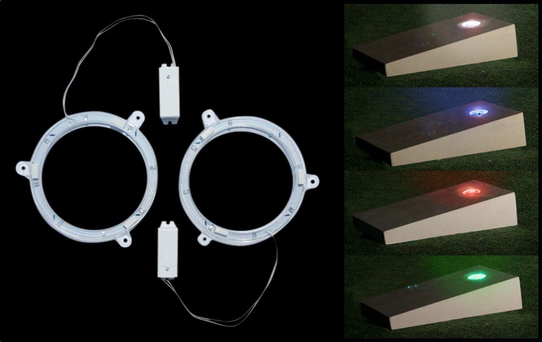 Cornhole Lights LED - Cornhole Board Night Light Set - 5 colors Available