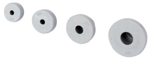 Kabeldurchführung Gummitülle Kabelverschraubung Kabeltülle PG11 grau