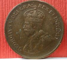 Canadian 1 Cent George V 1933 KM # 28  A-716