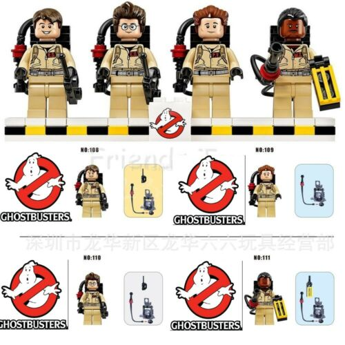 Ghostbusters Mini Figures NEW UK Seller Fits Major Brand Blocks Ghost Busters