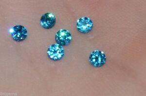 Makellos 3mm If Brillantschliff Labor Erstellt Blau Diamant