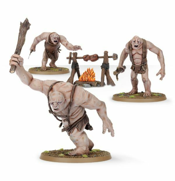 The Trolls - The Hobbit stratégie BATAILLE JEU -Games Workshop