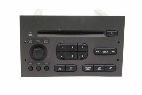 CD Autoradio Saab 9.3 93 YS3D Typ I 5370135 YS0135 ohne CODE Player Radio