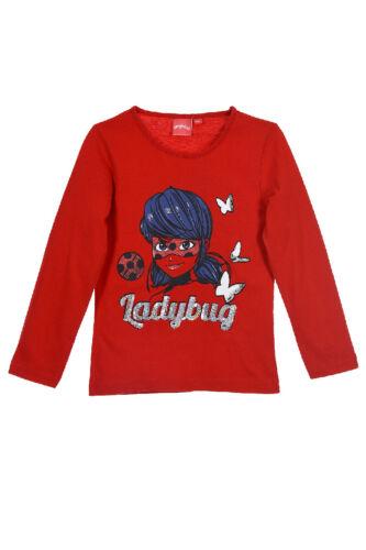 NEU ✰ Miraculous ✰ Ladybug ✰ Mädchen Langamrshirt ✰ Shirt ✰ Pullover