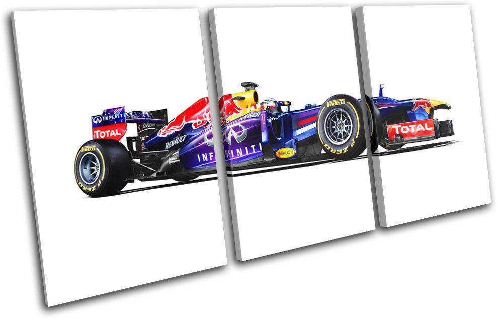 rojo bull F1 Racing Garage Cars TREBLE LONA pa Foto rojo  arte Foto pa impresion 5edf42