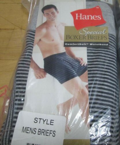 Men/'s Special Boxer Briefs Hanes Small 4 pair100 /% Cotton Fly Front Soft Cotton