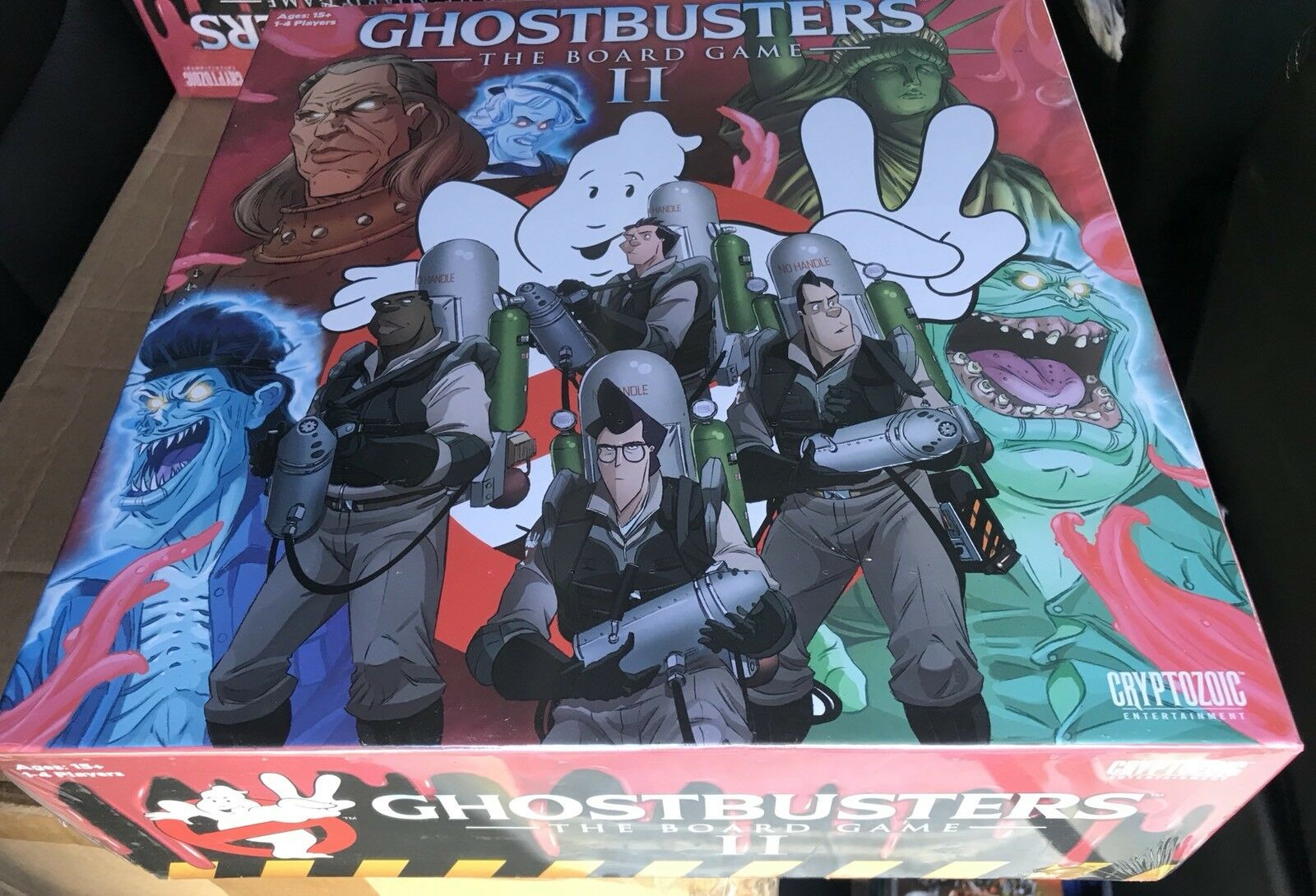 Ghostbusters 2 Juegos De Mesa KickEstrellater-totalmente Nuevo