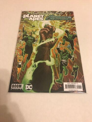 Comics Planet Of The Apes Green Lantern #1 NM DC Boom