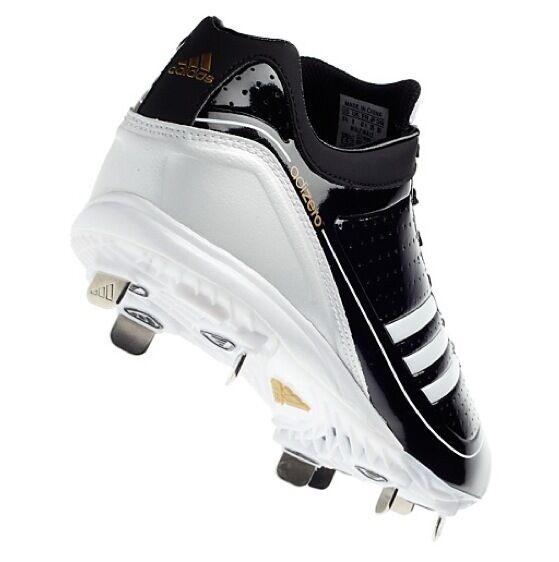 adidas 13 männer adizero diamond könig baseball - stollen schuhe g24748 schwarz - weiß - g24748 schuhe 550eb7