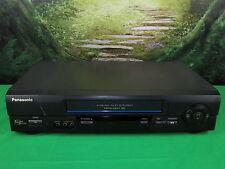 Panasonic PV-V4601 Omnivision VCR VHS Cassette Tape Player Recorder (No Remote)