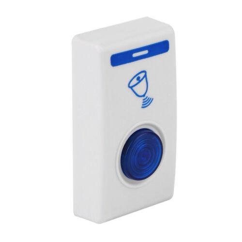 PORTE SANS FIL BELL DEL CARILLON Télécommande exploité Bell For Home Security NEUF
