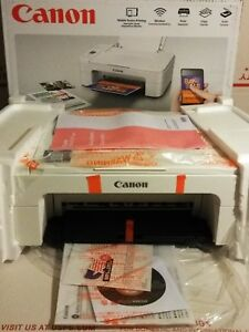 Details about NEW Canon Pixma TS3122 Wireless Inkjet All-In-One Printer /  Copier (PRINTER ONLY