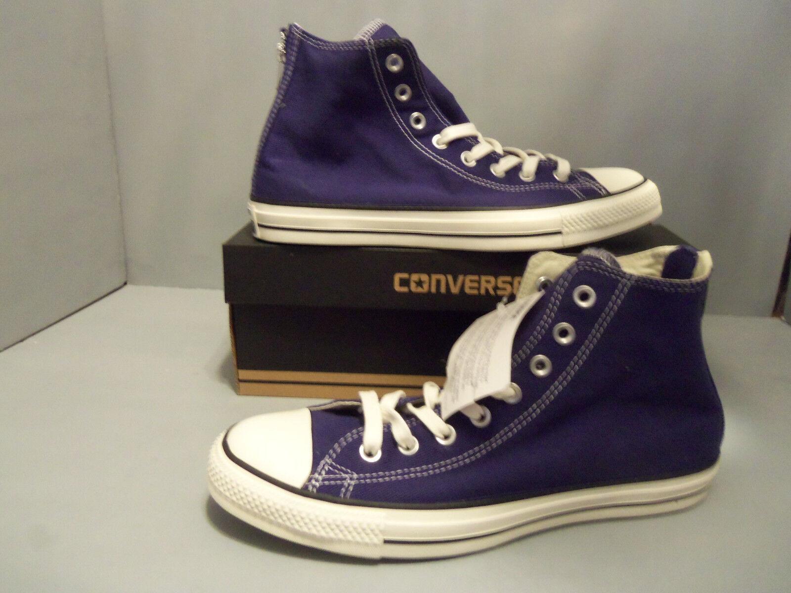 Converse All Star Back Zip Hi Top Victorian bleu Canvas 144782C hommes