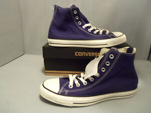 f05373a3b2dd5 Details about Converse All Star Back Zip Hi Top Victorian Blue Canvas  144782C Men's Sizes NIB