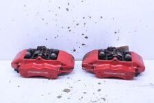 2003 2012 Porsche 911 996 997 C4s Turbo Rear Brake Calipers Brembo Set Pair Red Fits Porsche