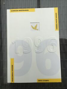 Jahrbuch Der Schweizer Briefmarken 1996