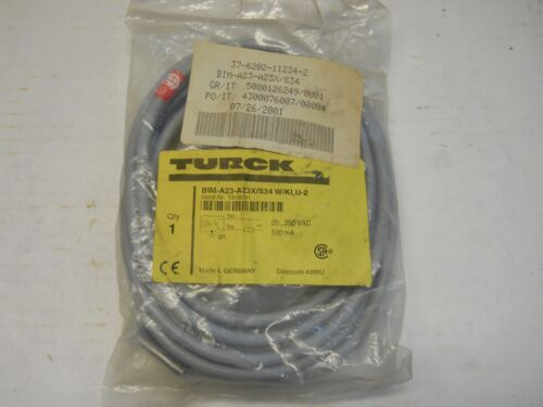 TURCK BIMA23AZ3XS34 WKLU2 PROXIMITY SWITCH PN 1346091 NEW IN PACKAGE