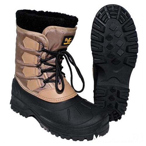 Warme Winter-Stiefel wasserdichte Winter-Stiefel Warme Gummistiefel Thermo Kälteschutzstiefel khaki dea9c4