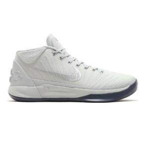 best value 6edf9 77a0c Image is loading Mens-NIKE-KOBE-AD-Pure-Platinum-Basketball-Trainers-