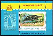 Indonesia - 1979 Marine life / Turtle - Mi. Bl. 31 MNH