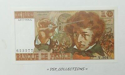 Eerlijkheid Banknote / Billet - France 10 Francs 6-7-1978 Unc / N°38-b01
