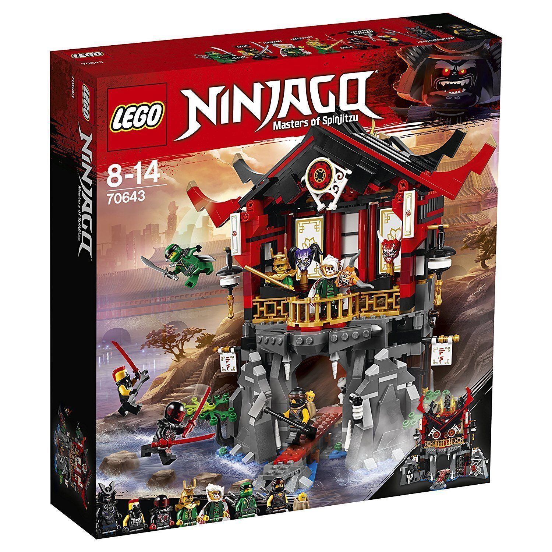 LEGO® NINJAGO® 70643  Tempel der Auferstehung  Cole Lloyd Harumi Herr E NEU/OVP