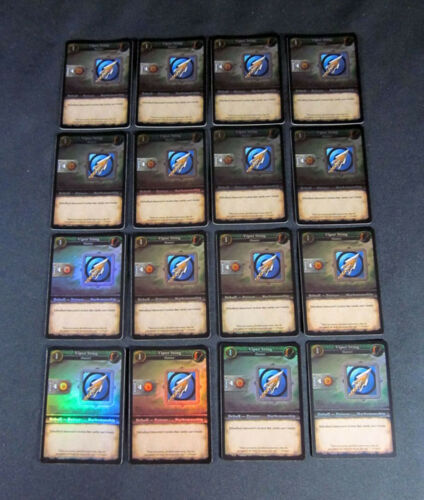 16 World of Warcraft WOW Miniatures Viper Sting FOIL PROMO-Hunter longanimité
