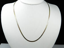 14K Multi Tone Gold Mystery Braid Chain Necklace