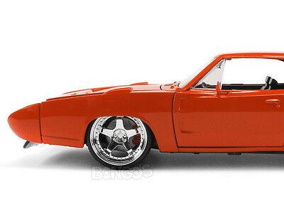 "1969 Dodge Daytona Charger R/T ""CUSTOM"" 1:24 Scale Diecast Model"
