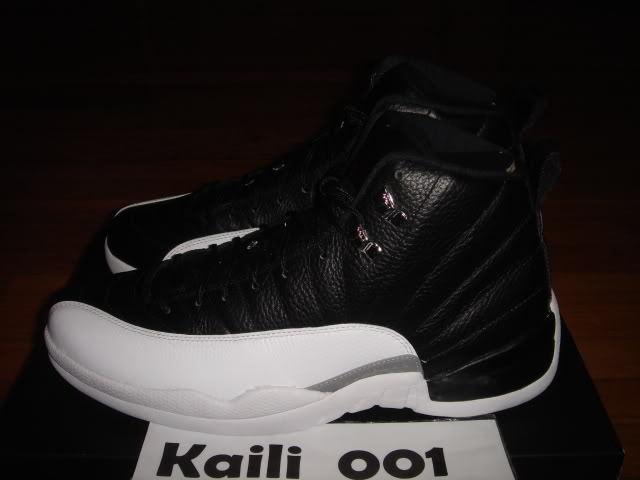 Nike Air Jordan 12 Retro Playoff OG Bred Flint A