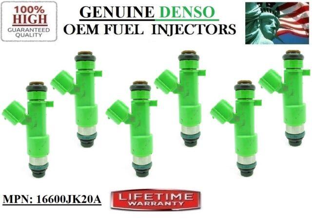 Single Genuine DENSO Fuel Injectors For 2009 2010 Infiniti M35 3.5L #16600-JA00A