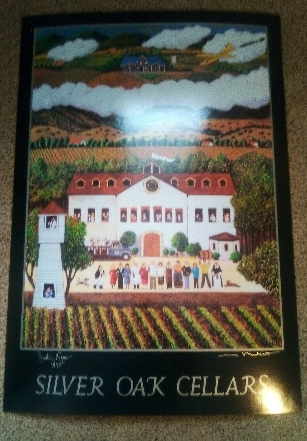Guy Buffet Silver Oak Cellers Signed Art Print Justin Meyers on eBay thumbnail