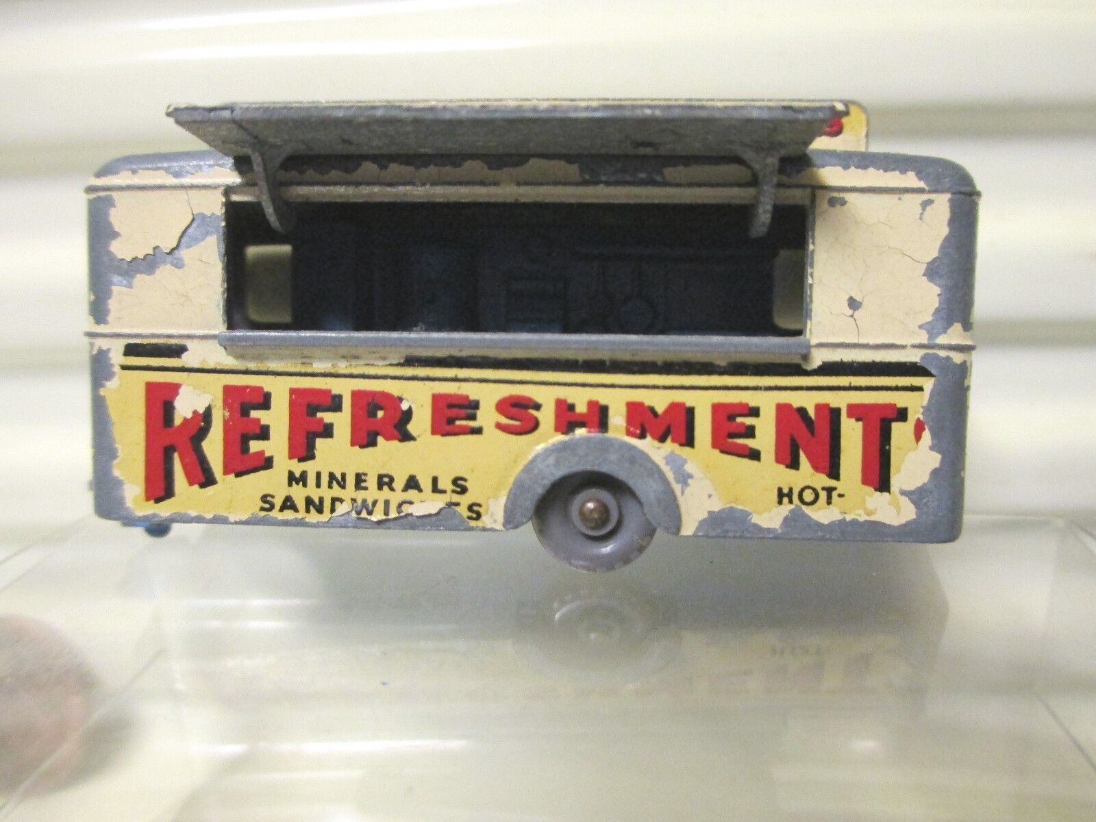 Moko Lesney Matchbox 1959 RW74A Cream móvil refresco Cantina GPW buena nobx