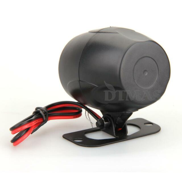 Car Auto Truck Vehicle Bike Alarm Warning Siren Horn 12V DC Black