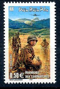 Copieux Stamp / Timbre France Neuf N° 3667 ** Bataille De Dien Bien Phu / Vietnam