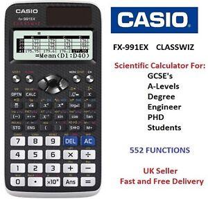 Casio fx 991ex fx991ex advanced scientific calculator 552 caricamento dellimmagine in corso casio fx 991ex fx991ex avanzata calcolatrice scientifica 552 ccuart Choice Image