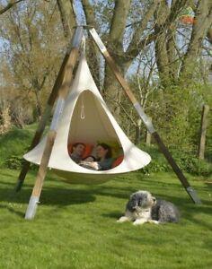 Hamaca Columpio de camping en interiores al aire libre actividades resto Inicio Jardín Chill espacio
