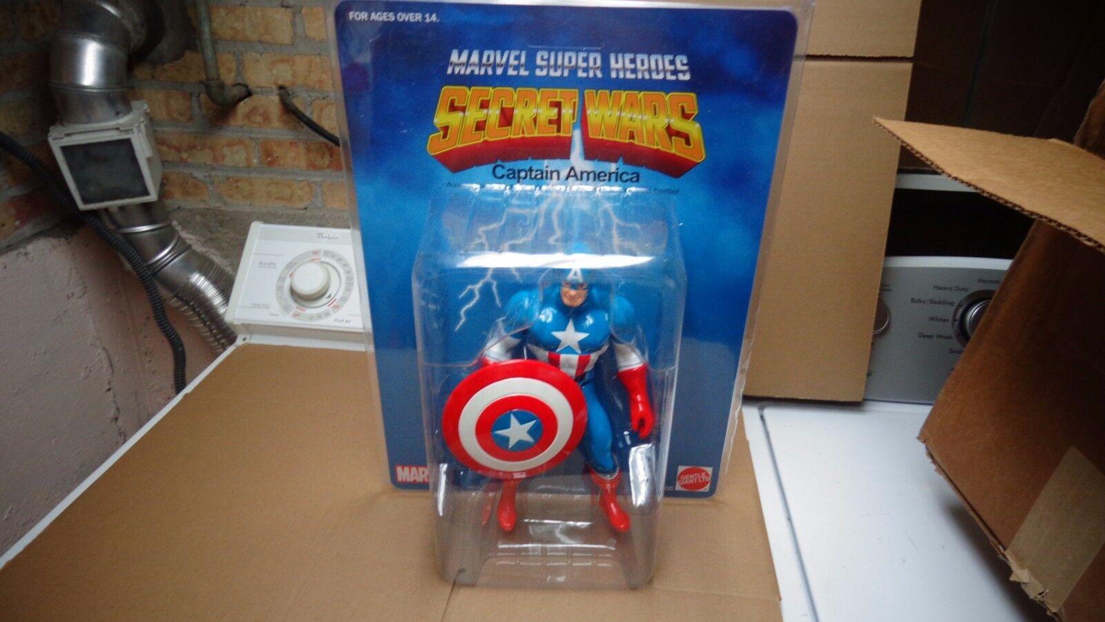 Marvel - superhelden captain america 12 geheime kriege jumbo