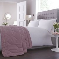 Charlotte Thomas Anastasia Quilted Bed Throw In Dark Pink