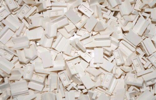 NEW LEGO 20xWHITE TILE PANEL BRICKS 1x2 4865 BULK CITY//STAR WARS//HARRY POTTER