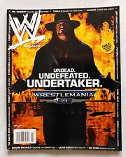 WWE Pro Wrestling Magazine April 2007 The Undertaker Wrestler