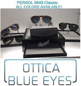 15ab889eb75 Image is loading PERSOL-sun-glasses-0649-649-Sun-Sonnenbrille-Gafas-