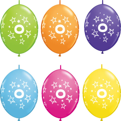 25.4x30.5cm Quick Jersey Number//Age Qualatex Latex birthday balloons
