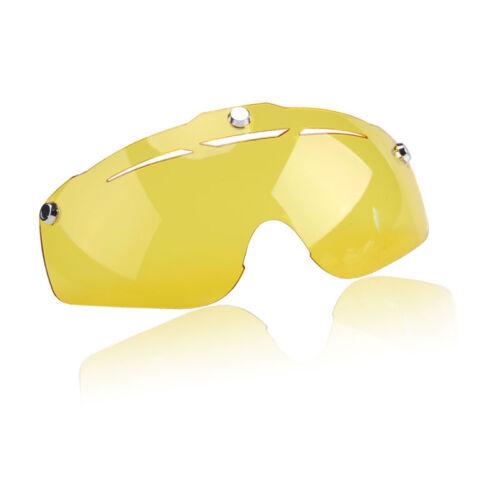 Mens cycling helmet lens visor spare eyewear Cycling Bicycle helmet Sunglasses
